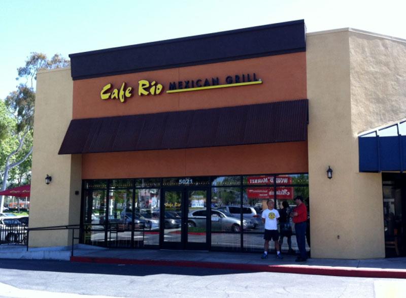 Cafe Rio Lakewood Mall